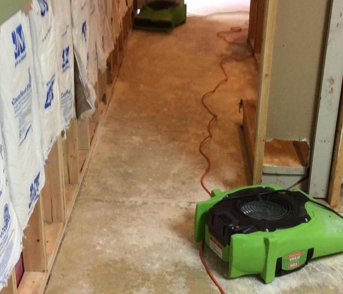 Water Damage Restoration in St Louis Before